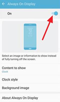 Always on Display что это такое в телефоне