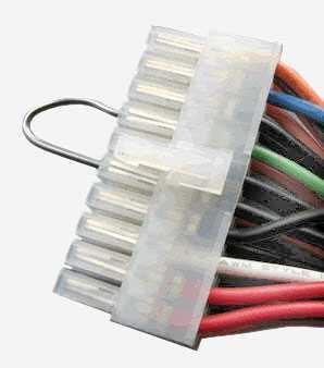 Соединение 4 и 6 -ого контактов 20-ти контактного разъема БП