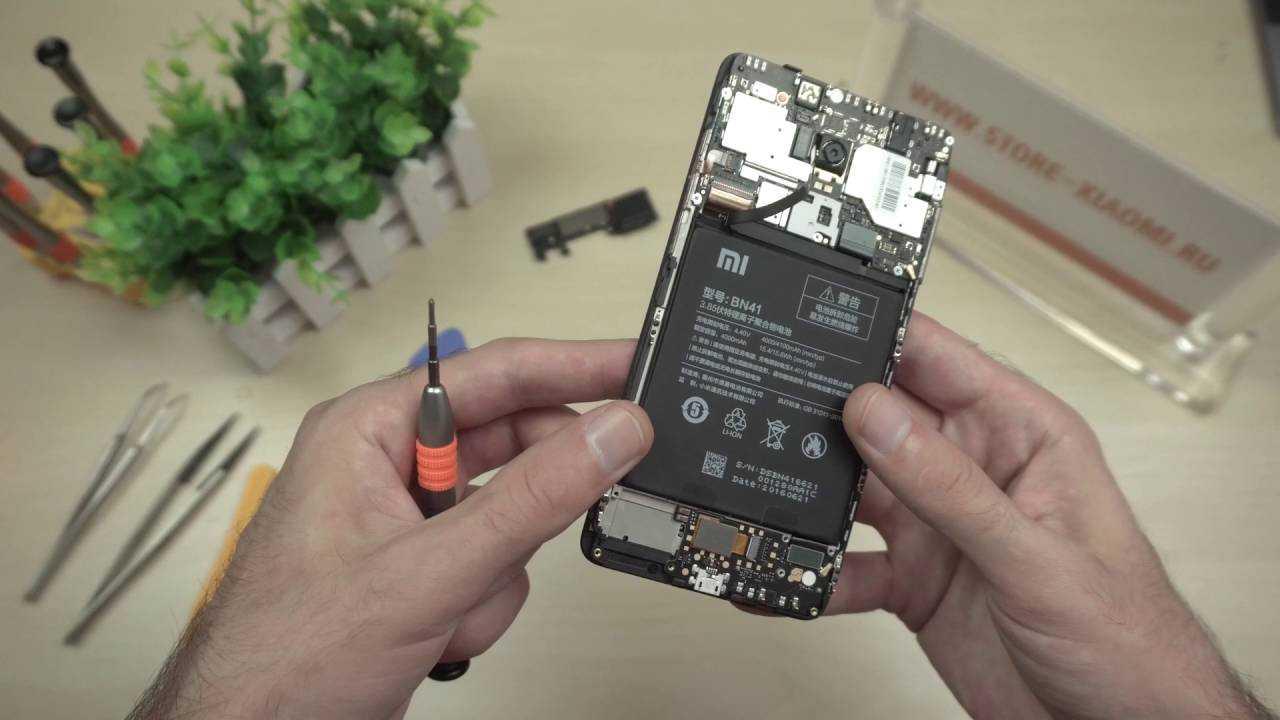 Аккумулятор смартфонаКсиаоми Редми 4 х